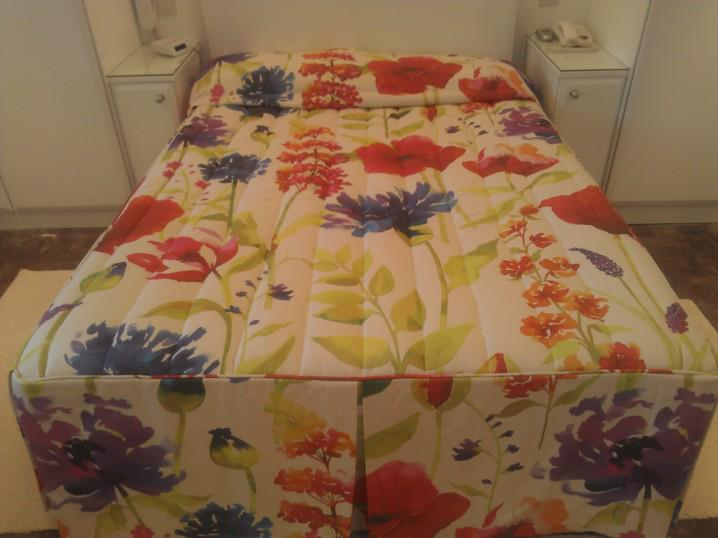 Matching bedspread